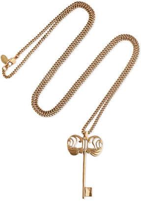 Alexander McQueen Gold-tone Necklace