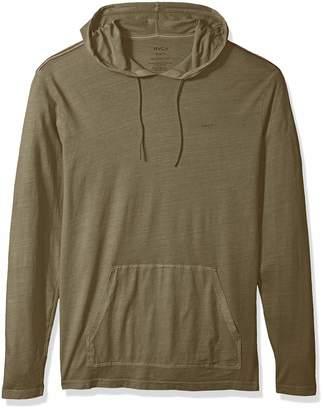 RVCA Men's PTC Pigment Hooded T-Shirt