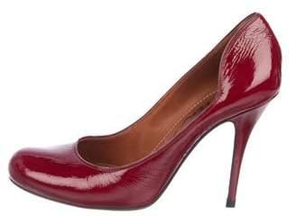 95857d41d0 Lanvin Patent Leather Round-Toe Pumps
