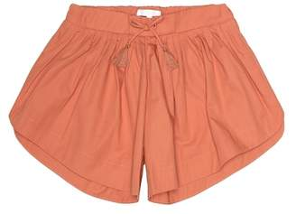 Chloé Kids Cotton shorts
