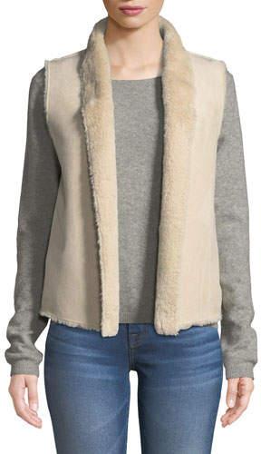 Velvet Yvette Faux-Fur Vest