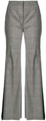 Sara Battaglia checked flared trousers