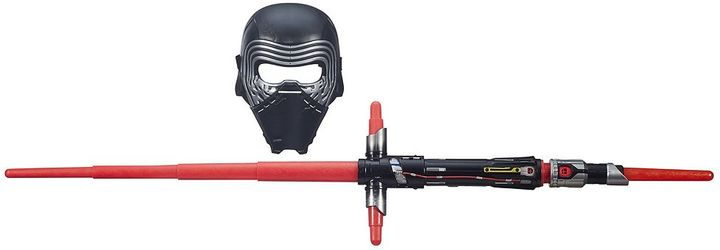 Star Wars: Episode VII The Force Awakens Kylo Ren Bladebuilders Lightsaber & Mask Set by Hasbro