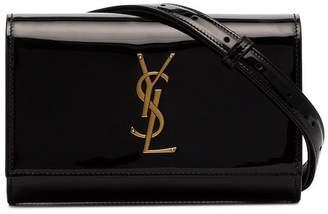 Saint Laurent Kate patent belt bag
