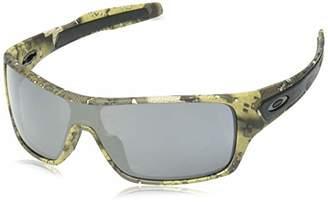 Oakley Men's Turbine Rotor Non-Polarized Iridium Rectangular Sunglasses