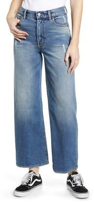 Mikey Boyish Jeans The High Waist Ankle Straight Leg Jeans