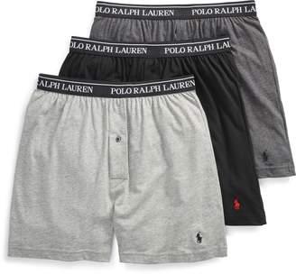 Ralph Lauren Knit Boxer 3-Pack