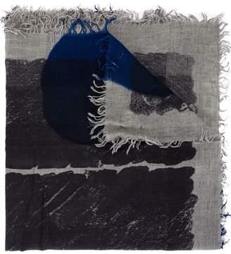 Faliero Sarti wide printed scarf