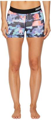 Nike Pro 3 Flower Jam Training Short Women's Shorts
