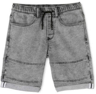 Bauhaus NEW Knit Denim Short Pullon Black