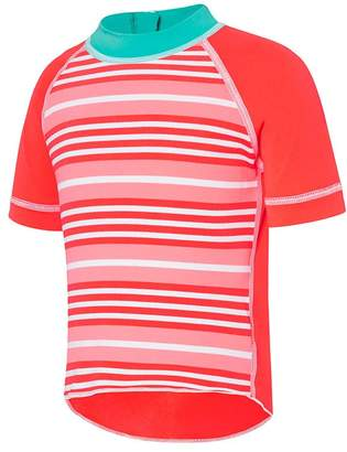 Speedo Toddler Girls Stripey Sun Top