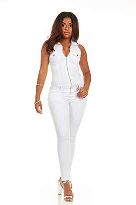 Plus Size White Jumpsuit Shopstyle