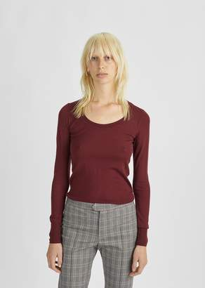 Isabel Marant Ashton Merino Sweater Burgundy