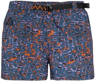 Nike printed running shorts