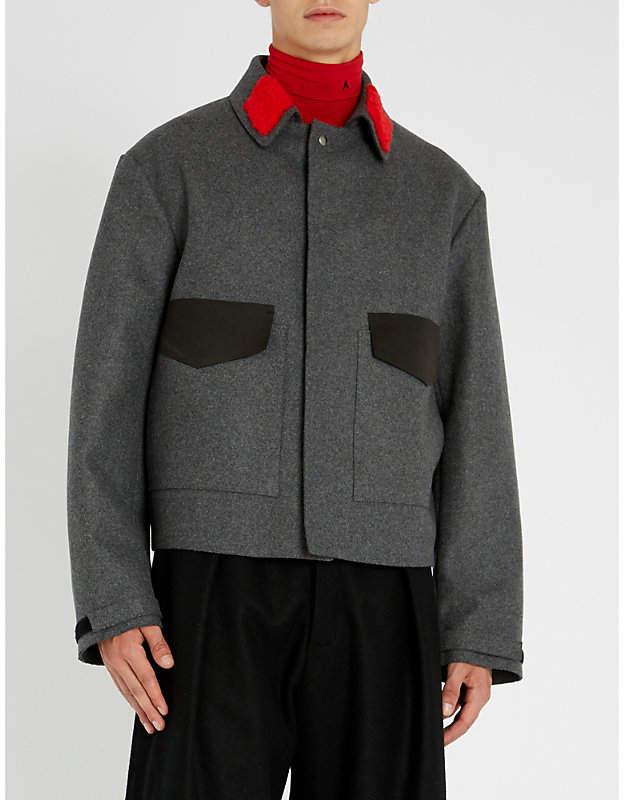 Oamc Manifesto wool jacket