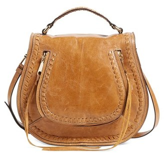 Rebecca Minkoff Vanity Saddle Bag - Brown $325 thestylecure.com