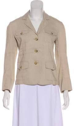 Theory Long Sleeve Linen Blazer