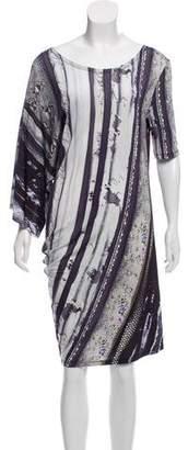 MM6 MAISON MARGIELA Printed Short Sleeve Dress w/ Tags