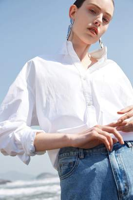 Rll / Studio Oversized Button Down Oxford Shirt