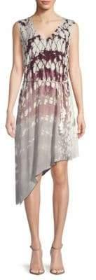 Young Fabulous & Broke Printed Asymmetric Dress