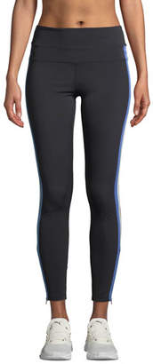 Spiritual Gangster Side-Stripe High-Rise Activewear Track Tights