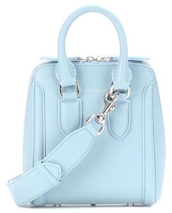 Alexander McQueenAlexander McQueen Small Heroine leather crossbody bag