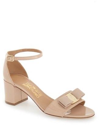 Women's Salvatore Ferragamo 'Gavina' Ankle Strap Sandal $550 thestylecure.com
