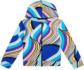 Emilio Pucci Printed Zip-Up Hoodie