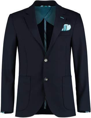 Koy Clothing - Navy Nusu Luo Wool Blazer