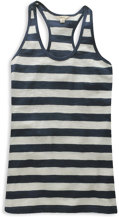 H81 Patsy Striped Racerback Tank