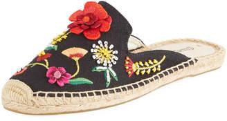 Soludos Embellished Slide Espadrille Mule