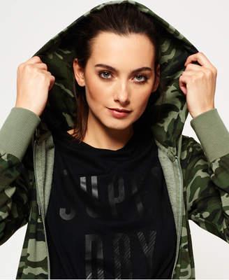 Superdry Camo Zip hoodie