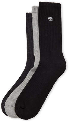 Timberland 3-Pack Crew Socks