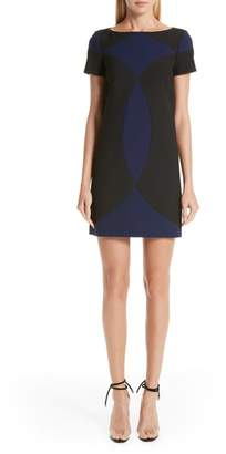 Versace Colorblock Shift Dress