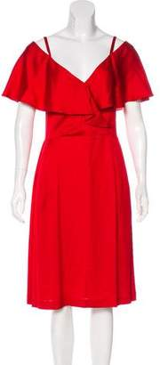 Paul & Joe Satin Midi Dress