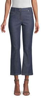 Escada J507 Cropped Flare Denim