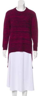 Thakoon High-Low Knit Sweater