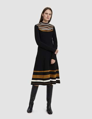 Proenza Schouler Long Sleeve Knit Dress