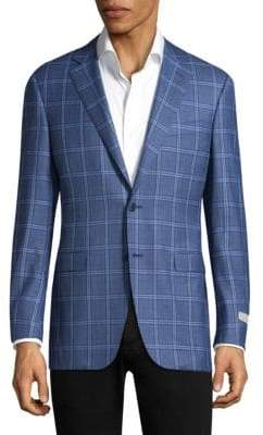 Canali Printed Wool Sportcoat