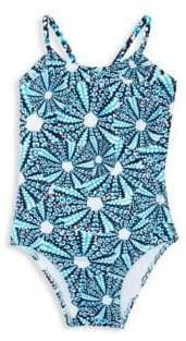 Vilebrequin Girl's Print One-Piece Swimsuit