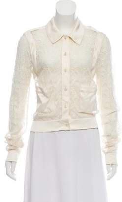 Chanel Lace Long Sleeve Blouse w/ Tags