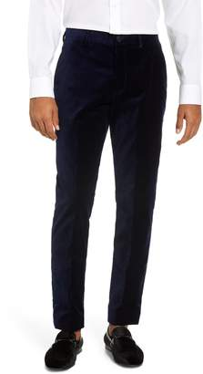 French Connection Slim Fit Plush Velveteen Trousers