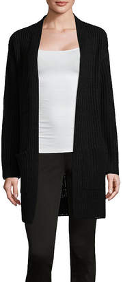 A.N.A Long Sleeve Drop Shoulder Cardigan - Tall