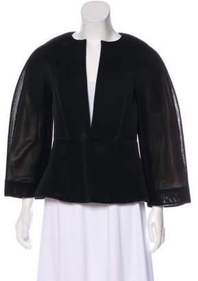 Zero Maria Cornejo Mesh Collarless Jacket