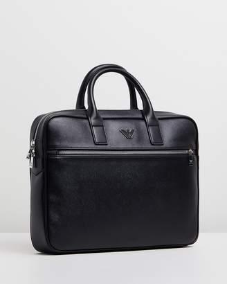 Emporio Armani Small Business Briefcase