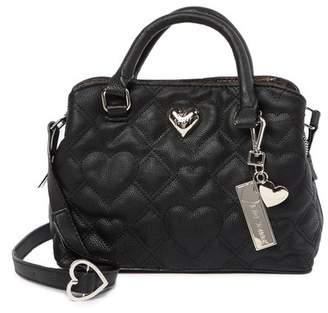 Betsey Johnson Mini Faux Leather Satchel