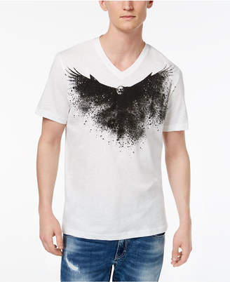 INC International Concepts I.n.c. Men's Dark Eagle Graphic T-Shirt, Created for Macy's