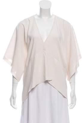 IRO Kimono Sleeve V-Neck Blouse