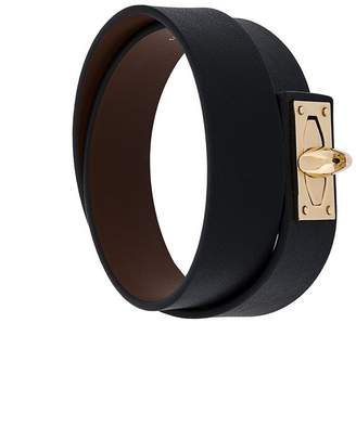 Givenchy classic buckled bracelet