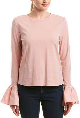 ENGLISH FACTORY Bell Sleeve Top